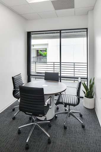 a private meeting room